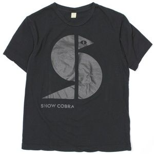 Show Cobra Silkscreen Short Sleeves T Shirt Logo S